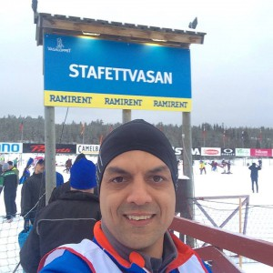 Manju Stafettvasan Start